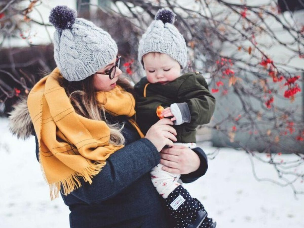 How to Dress a Baby for a Stroller in Winter